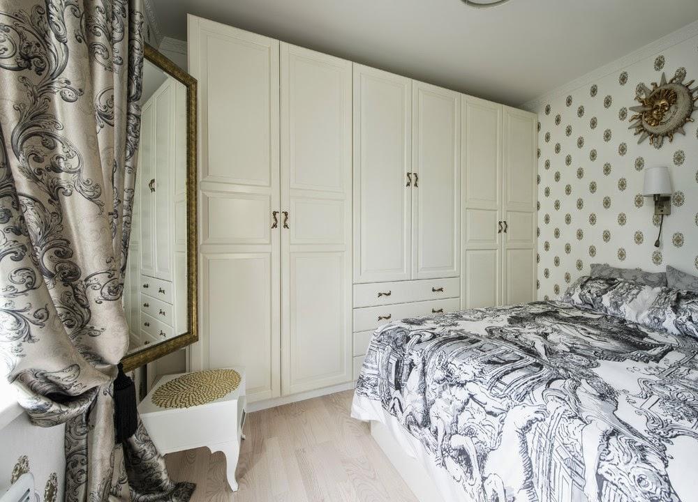 Спальня девушки в двухкомнатной квартире