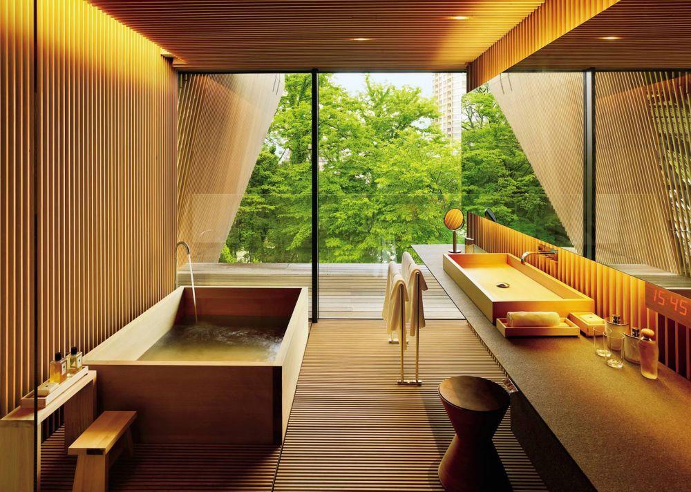 традиционная японская ванная