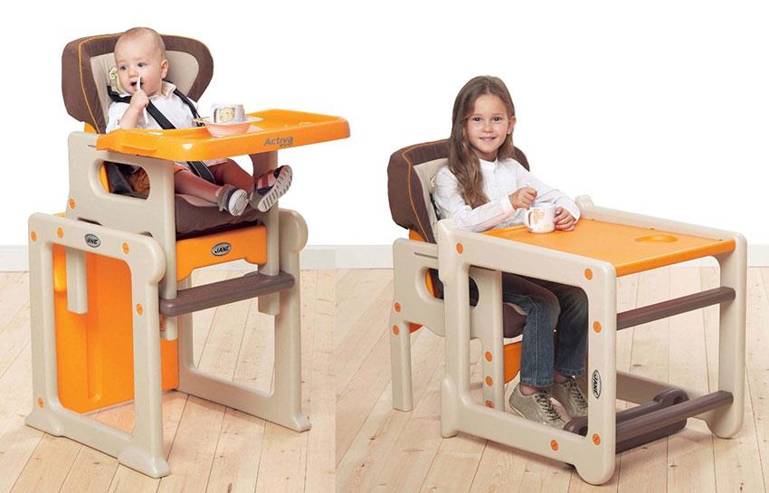 Универсальный стул-трансформер для детей разного возраста