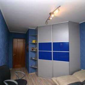угловой шкаф в детскую комнату фото оформления