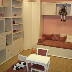 угловой шкаф в детскую комнату идеи оформление