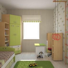угловой шкаф в детскую комнату варианты идеи