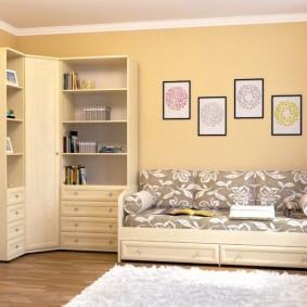 угловой шкаф в детскую комнату фото идеи