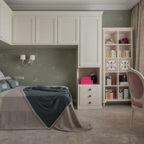 угловой шкаф в детскую комнату фото дизайн