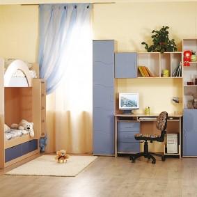 угловые шкафы в детскую фото