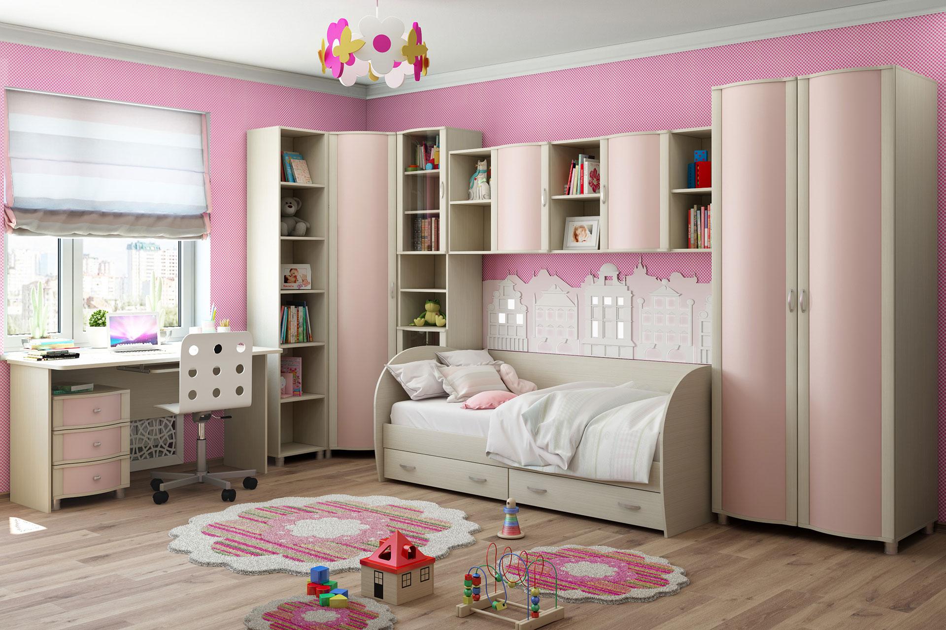 угловые шкафы в детскую фото варианты