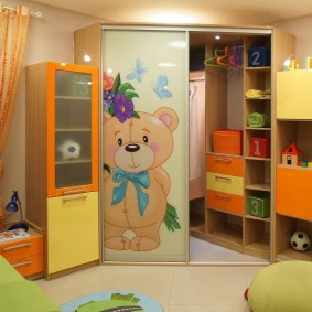угловые шкафы в детскую идеи