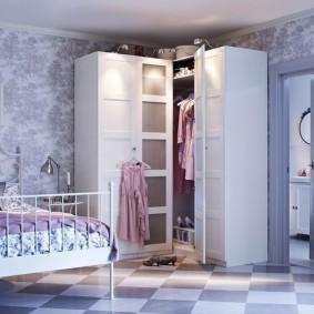 угловые шкафы в детскую комнату идеи