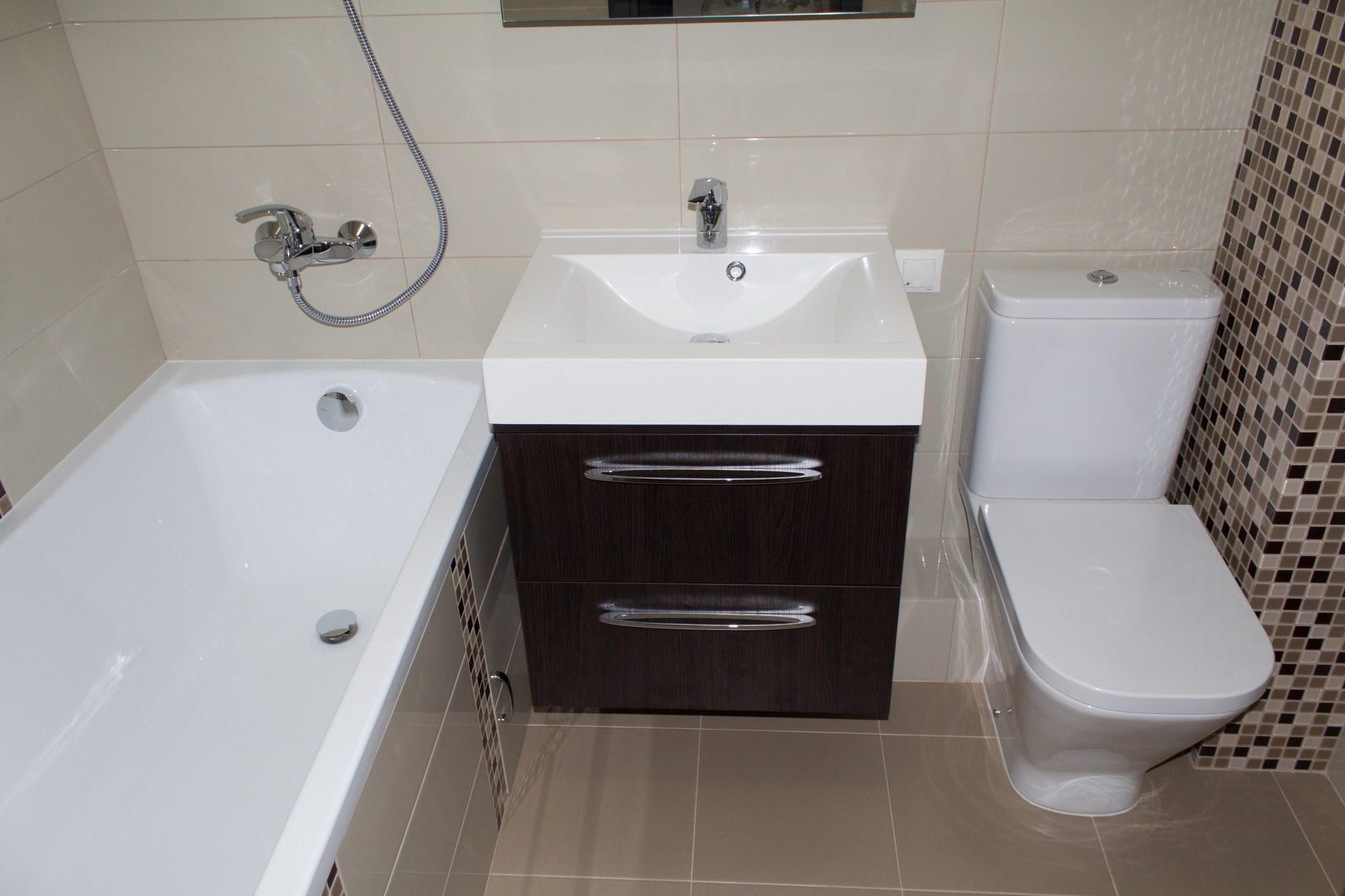 ванная в хрущевке совмещенная с туалетом