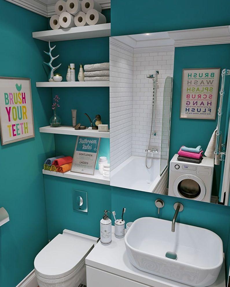 ванная комната в хрущевке полки