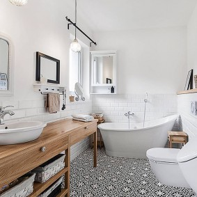 ванная комната 2019 скандинавский стиль