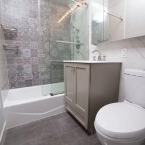 ванная комната в хрущёвке дизайн идеи