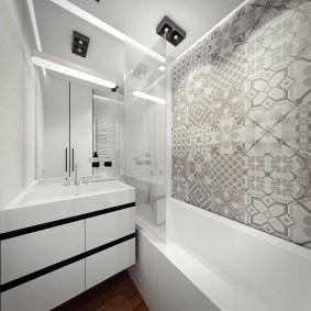 ванная комната в хрущёвке декор