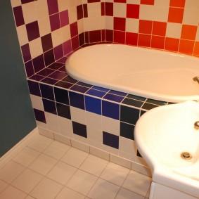 ванная комната в хрущёвке декор фото