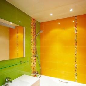 ванная комната в хрущёвке фото декор