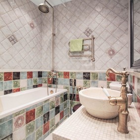 ванная комната в хрущёвке идеи декор