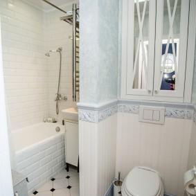ванная комната в хрущёвке идеи декора