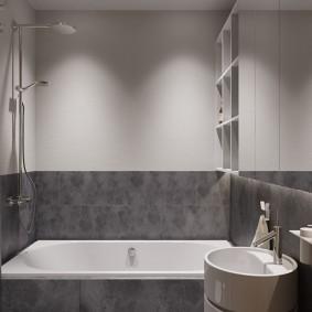 ванная комната в хрущёвке интерьер