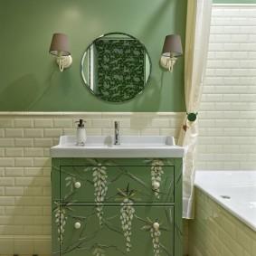ванная комната в хрущёвке фото интерьер