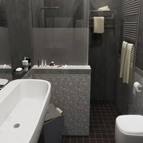 ванная комната в хрущёвке интерьер идеи