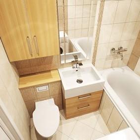 ванная комната в хрущёвке идеи интерьера
