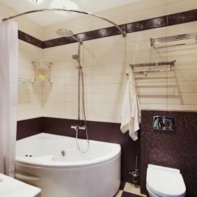 ванная комната в хрущёвке фото оформление