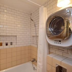ванная комната в хрущёвке идеи оформление
