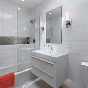 ванная комната в хрущёвке идеи оформления