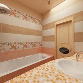 ванная комната в хрущёвке фото вариантов
