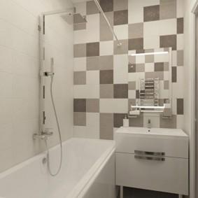 ванная комната в хрущёвке варианты идеи