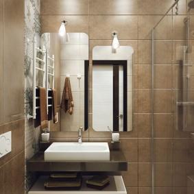 ванная комната в хрущёвке виды дизайна