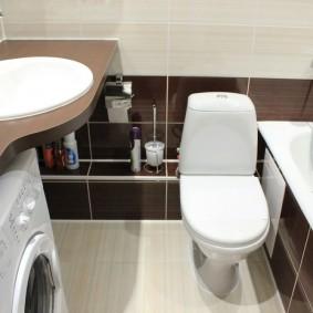ванная комната в хрущёвке дизайн