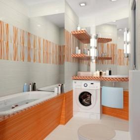 ванная комната в хрущёвке дизайн фото