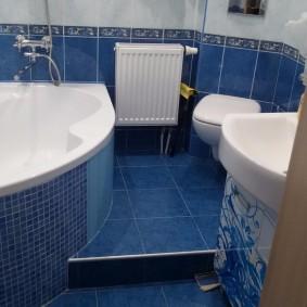ванная комната в хрущёвке фото дизайна
