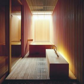 ванная комната в японском стиле идеи дизайн