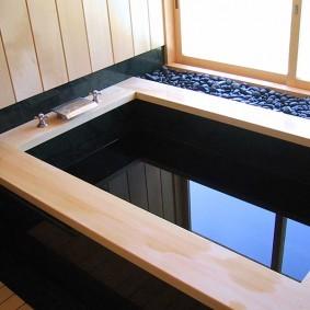 ванная комната в японском стиле идеи дизайна