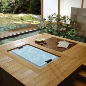 ванная комната в японском стиле идеи декор