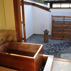 ванная комната в японском стиле идеи декора