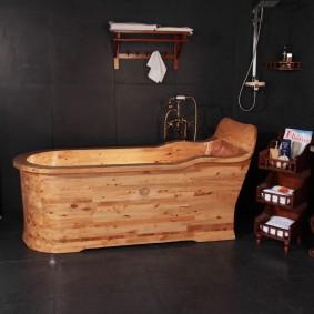 ванная комната в японском стиле фото интерьера