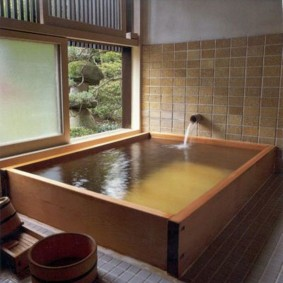 ванная комната в японском стиле оформление