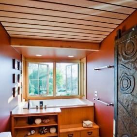 ванная комната в японском стиле фото оформления