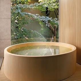 ванная комната в японском стиле оформление идеи