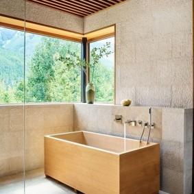 ванная комната в японском стиле идеи оформление