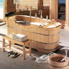 ванная комната в японском стиле варианты