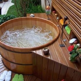 ванная комната в японском стиле фото вариантов