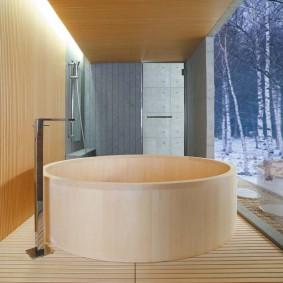 ванная комната в японском стиле виды