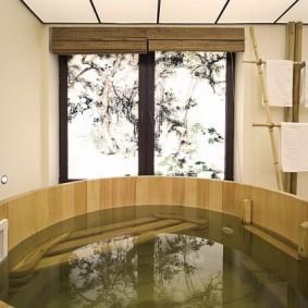 ванная комната в японском стиле виды фото