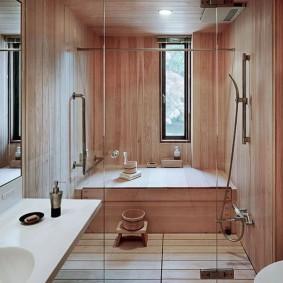 ванная комната в японском стиле фото виды