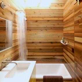 ванная комната в японском стиле обзор