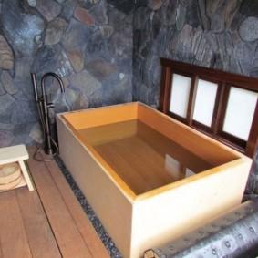 ванная комната в японском стиле виды дизайна